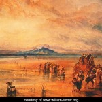 Lancaster Sands - William Turner