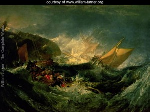 Wreck of a Transport Ship - William Turner