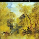 Willows on the brink of a madness brook - William Turner