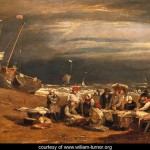 Fishmarket on the Beach - William Turner