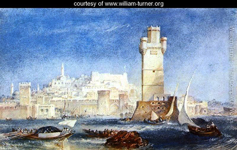 Rhodes - for Lord Byron's Works - William Turner