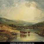 Bridge over the Usk - William Turner
