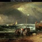 The Iveagh Seapiece, or Coast Scene of Fisherman Hauling a Boat Ashore -
