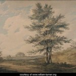 Landscape with Trees and Figures - William Turner