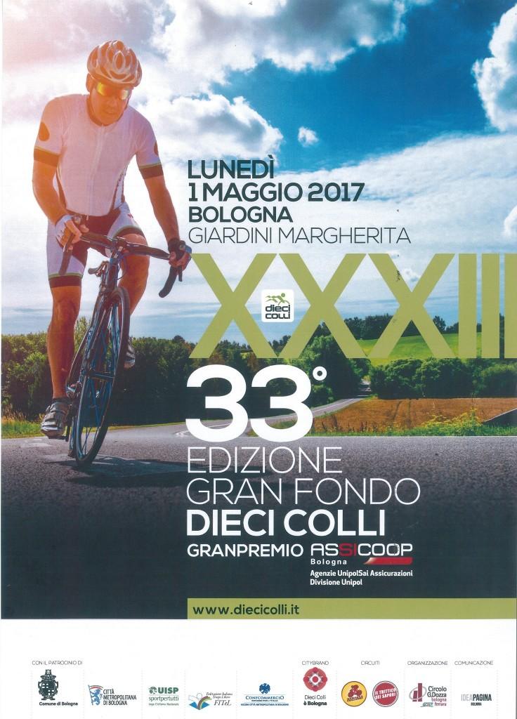 Dieci Colli 2017. Poster