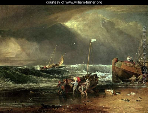 the-iveagh-seapiece-or-coast-scene-of-fisherman-hauling-a-boat-ashore-